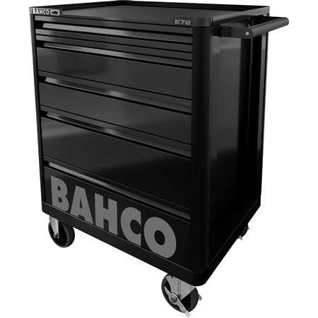 """Værkstedsvogn 26"""" sort med 145 dele Bahco"""