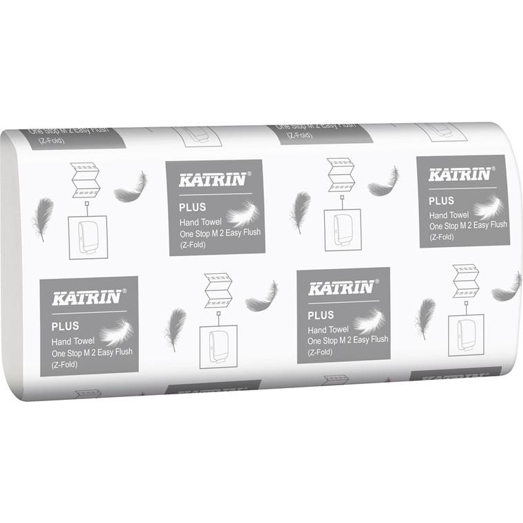 3000 Ark Papirhåndklæde Katrin Plus One Stop M 2 Easy Flush