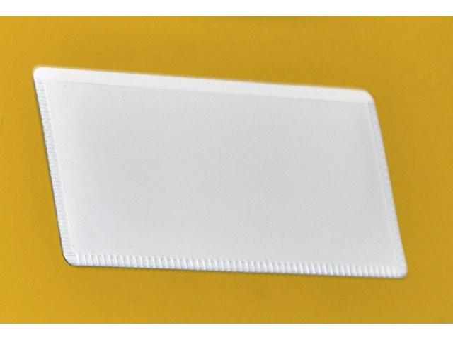 Magnetlomme 5x10cm flad åben liggende 50stk/pak