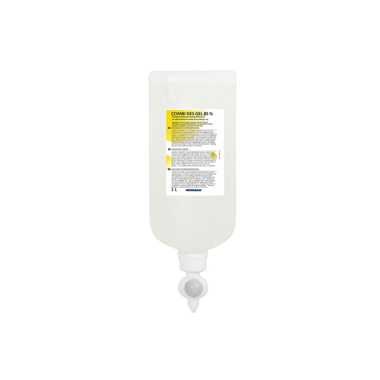 Hånddesinfektion Combi Des Gel 85% 1 ltr