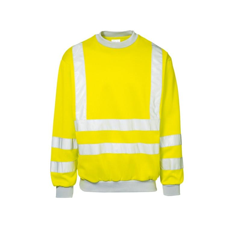 Sweatshirt Sikkerhed M/L Gul
