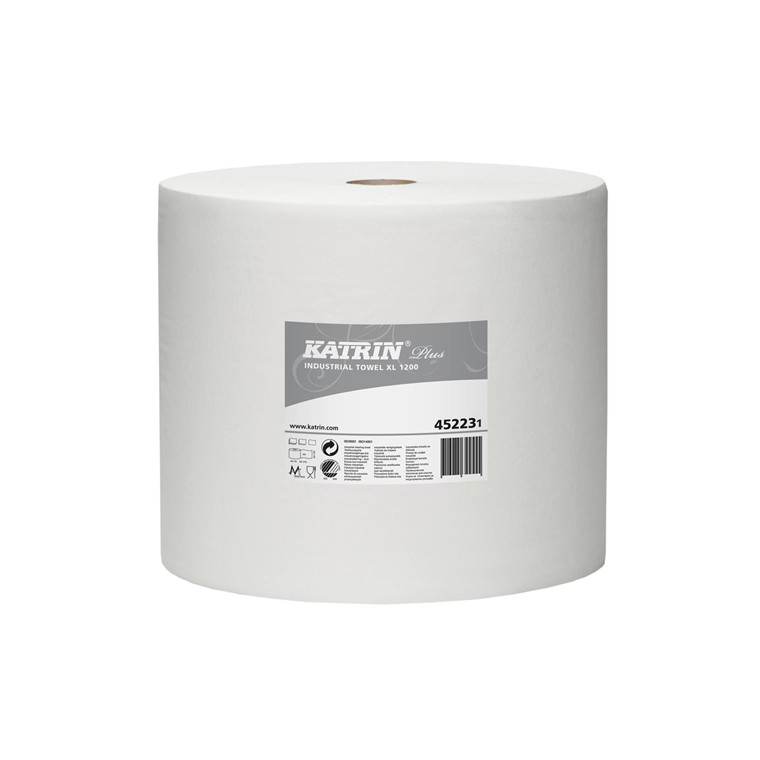 Aftørringspapir Katrin Plus Xl 1 rl 452233