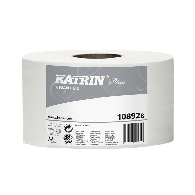 Toiletpapir Katrin Plus giga S 12 rl 108925
