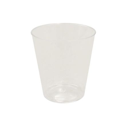 Plastikglas 3 Cl 50 Stk