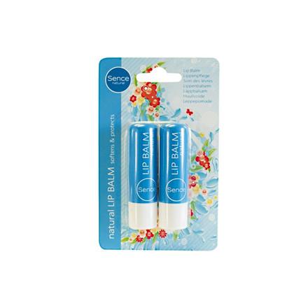 Læbepomade Natural 2-pak