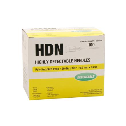 Kanyle HDN stål 0,9X9 sporbar 100 stk