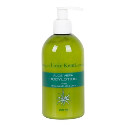 Bodylotion m/økologisk Aloe Vera 300 ml