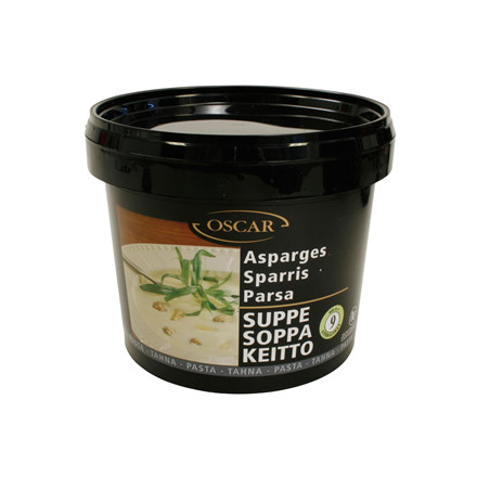 Suppe Asparges pasta 900 gr