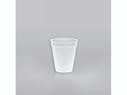 Termobæger hvid 20cl (7oz) 1000stk/kar C200