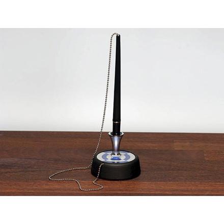 Counter desk kuglepen model 30 Esselte sort fod m/kæde