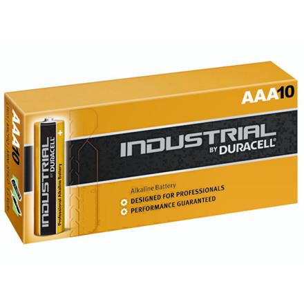 10 Stk Batteri Duracell Industrial AAA 10stk/pak LR03 / MN24