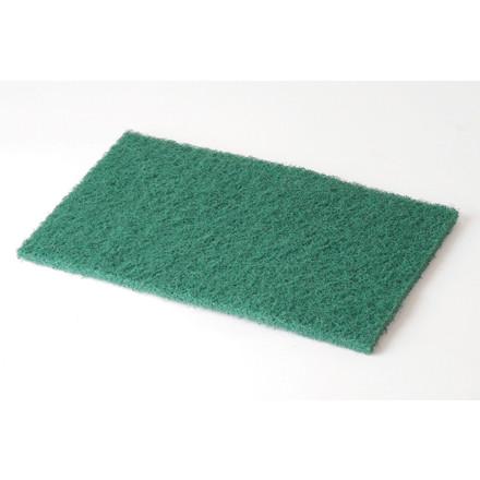 10 Stk Håndskurenylon TASKI grøn 6x9 tommer 10st/pkt