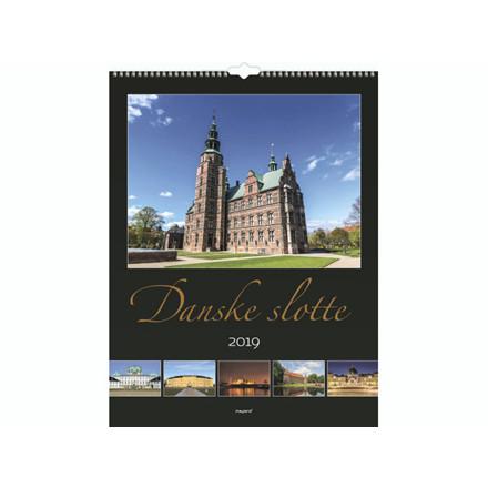 5 stk Vægkalender Danske slotte 29,5x39cm 19 0662 00