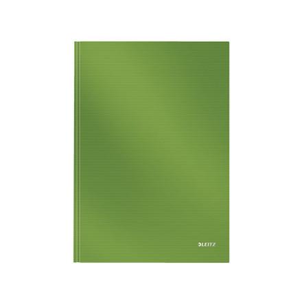Notesbog Leitz Solid A4 lysegrøn hard linieret 80ark