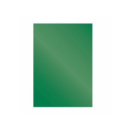 Kartonforside til indbinding Fellowes A4 250g grøn Cromolux