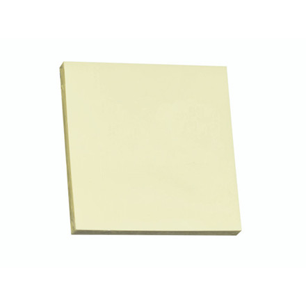 12 Blokke Z-notes Q-line Stick'N gul 76x76mm 100blade 12stk/