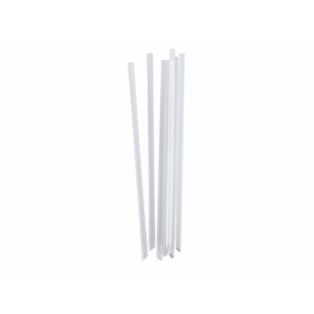 Sugerør PLA 21cm transparent 100stk/pak