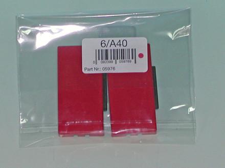 Stempelpuder til Alpo 40 2-pack rød