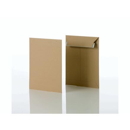 Konvolut kartonpose 3 t/A5+ 240x315mm brun 100stk/pak