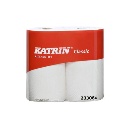 Køkkenrulle Katrin Classic 2 Rl, 23306, 100 mtr