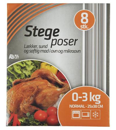 STEGEPOSER 25X38 CM 8 STK