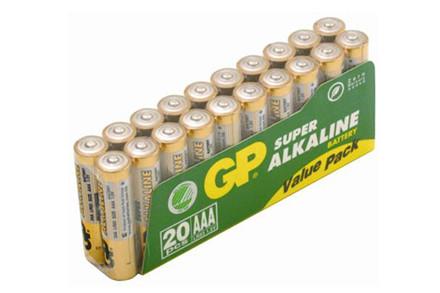 Gp Aaa Batterier 20 Stk