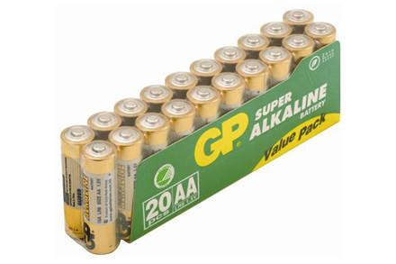 Gp Aa Batterier 20 Stk