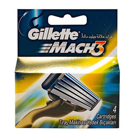 GILLETTE MACH3 BARBERBLADE 4 PK