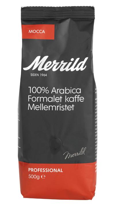 MERRILD MOCCA, 500 GRAM--