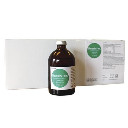 Vitamin B Becoplex Vet 5x100 ml