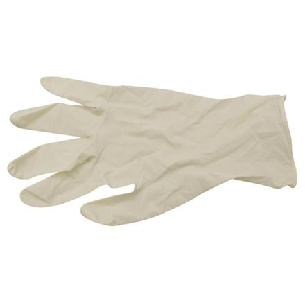Handske Latex L (8,5) 100 stk