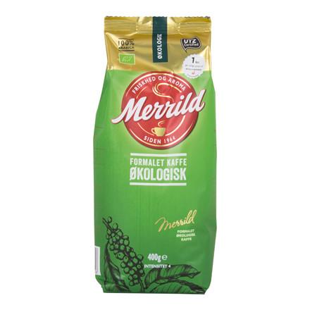 Kaffe Merrild Økologisk 400 gr