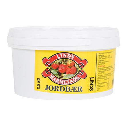 Marmelade LINDS Jordbær 2,5 kg