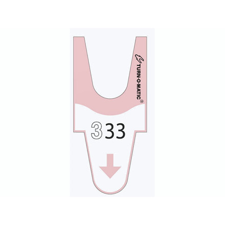 Ventenumre t/Turn-o-matic rosa 4000stk/rul T90