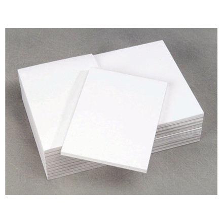 10 stk Affaldsblokke limet ulinieret 105x148mm 60g 80bl/stk