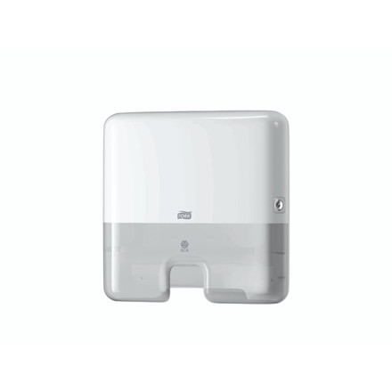 Dispenser Tork Mini Xpress H2 hvid t/papirhåndklæder 552100