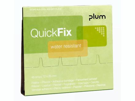 6 pakker Plaster refill Water Resistant 45stk Quick Fix