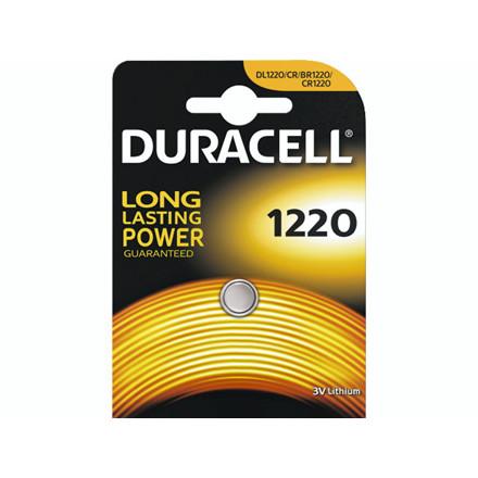Batteri Duracell Electronics 1220 1stk/pak DL1220 / CR1220