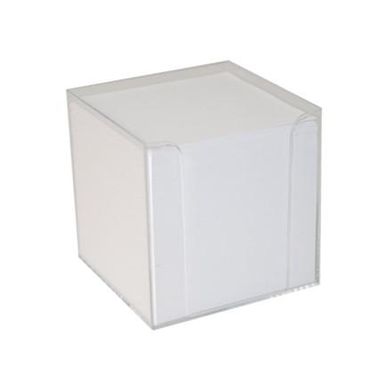 1100 Ark Kubus refill løse blade 1100ark/stk hvid 9x9x9 cm