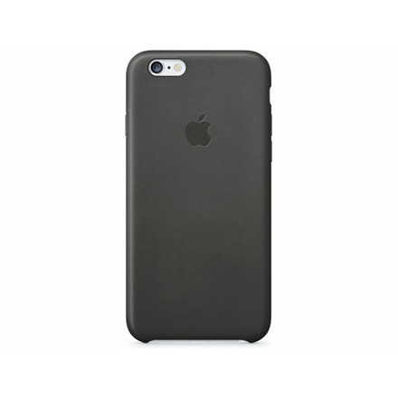 Case Apple iPhone 6/6S læder sort