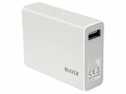 PowerBank USB Leitz Complete hvid 6000mAh