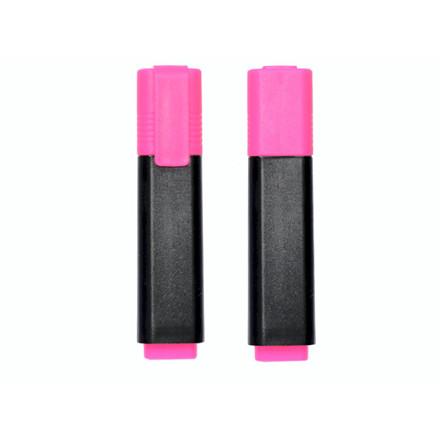 10 stk Tekstmarker Q-Line rosa