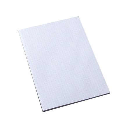 10 stk Standardblok u/huller kvadr. 60g hvid A5