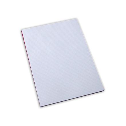 5 stk Standardblok u/huller kvadr. 60g hvid A4
