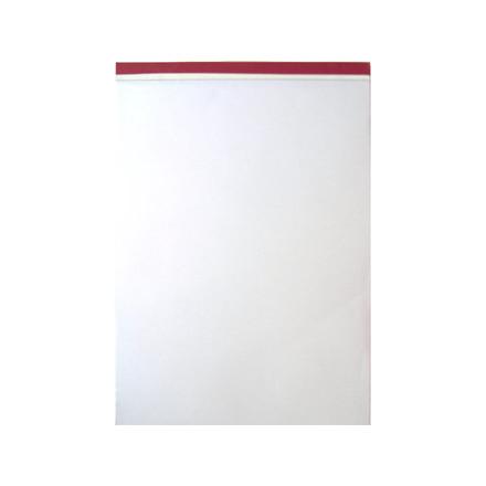 5 stk Standardblok A4 ulinieret 60g stub m/perforering u/hul