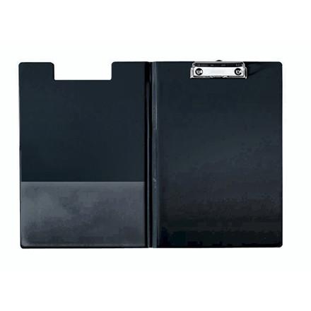Clipboard Esselte sort A4 m/forside 56047