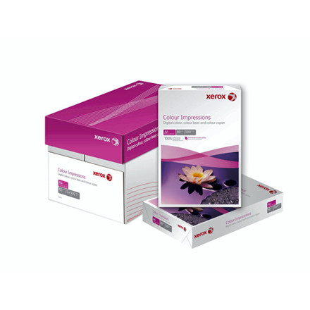 4 pakker Kopipapir Xerox Colour Impressions 120g A4 500ark/p