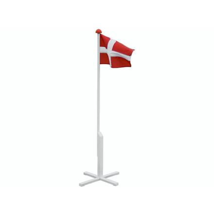 Flagstang med flag 150cm