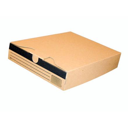 50 stk Arkivæske A4 brun 320x245x58mm