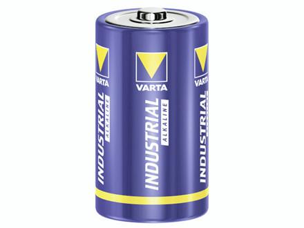 20 Stk Batteri Varta Industrial LR 20 D 20stk/pak Hjd.61,5xØ